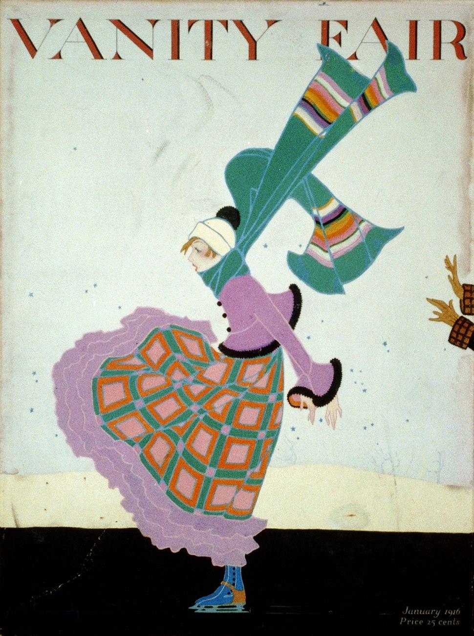 Vanity Fair cover by Ethel Caroline Rundquist 1916
