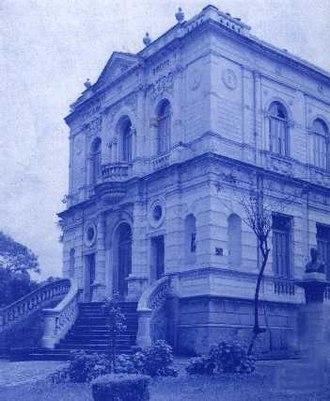 Faculdade de Direito da Universidade Federal de Minas Gerais - Building demolished in 1958