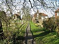 View along footpath near Headcorn church - geograph.org.uk - 1218468.jpg