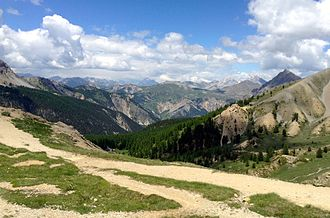 Col d'Izoard - Panoramic view from the summit