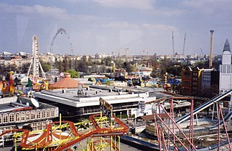 Leopoldstadt - The Volksprater amusement park in the Wiener Prater.