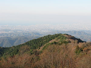 Mount Izumi Katsuragi - Image: View of Mount Izumi Katsuragi 1