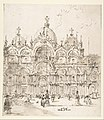 View of Piazza with Basilica of San Marco MET DP810108.jpg