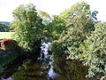 View of River Lowther from road bridge at Bampton Grange - geograph.org.uk - 1523752.jpg