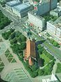 View of St Marienkirche from the Berlin TV tower.jpg
