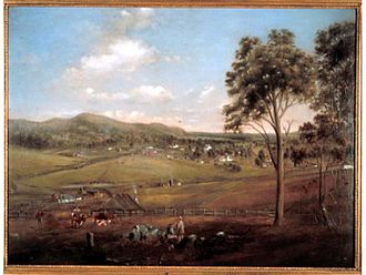 Tenterfield, New South Wales - Tenterfield in 1861