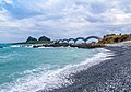 View of bridge from Sansiantai beach.jpg