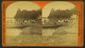View of people in boats and swimming in the lake, by John H. Fouch.png