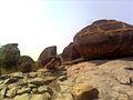 View of rocks at Padmakshi Gutta.jpg