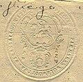 Vilnia, Pahonia. Вільня, Пагоня (1792).jpg
