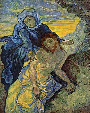 Pietà (after Delacroix), The