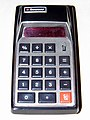 Vintage Bowmar Model MX55 Red LED Personal Calculator, Assembled in Mexico, Five Function, Eight Digit, Rechargeable Batteries, Circa 1974 (8484032566).jpg