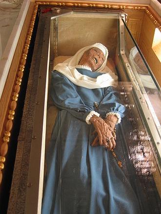 Virginia Centurione Bracelli - The remains of Saint Virginia Centurione found to be incorrupt.