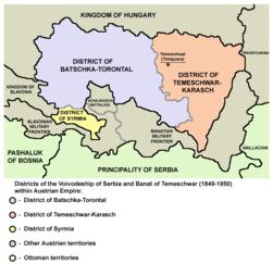 Vojvodstvo srbija okruzi 1849 01.png