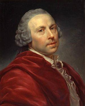 Anton von Maron - Self-portrait