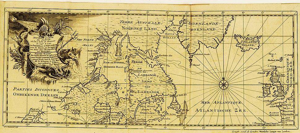 Voyage à la baye de Hudson, fait en 1746 et 1747