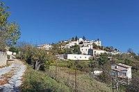 Vue du village des Mujouls depuis la rue des Pommiers.JPG
