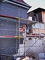 Wärmeisolierung an einem Wohnhaus.JPG