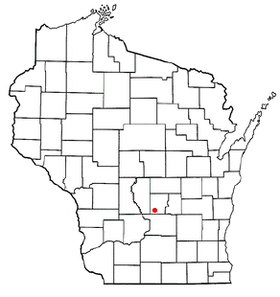 Location of Endeavor, Wisconsin