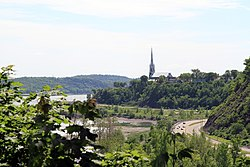 Sillery and the Saint Lawrence River