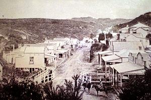 Waikino - Waikino Village in the 1870s
