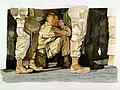 Waiting To Go To War (2001), by Henrietta M. Snowden.jpg
