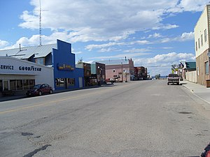 Walden, Colorado - Walden, Main Street