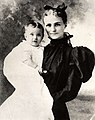 Wallis Simpson as a six-month-old child in the arms of her mother, Alice Montague Warfield.jpg