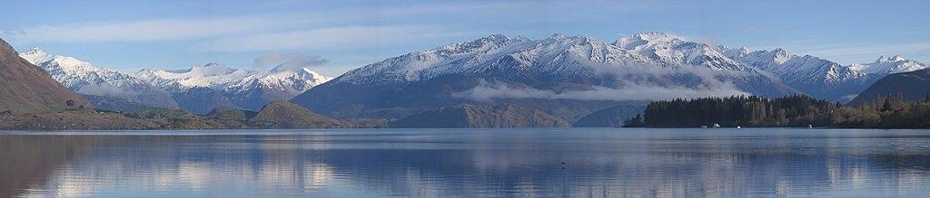 Wanaka - lyžiarske stredisko na Novom Zélande