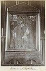 Wand met een portret van bisschop William of Wykeham, vermoedelijk in Winchester, RP-F-F01135-CV.jpg