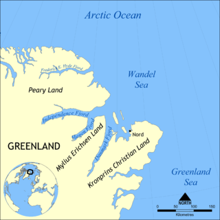 peninsula in Greenland