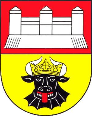 Dorf Mecklenburg - Image: Wappen Gemeinde Dorf Mecklenburg