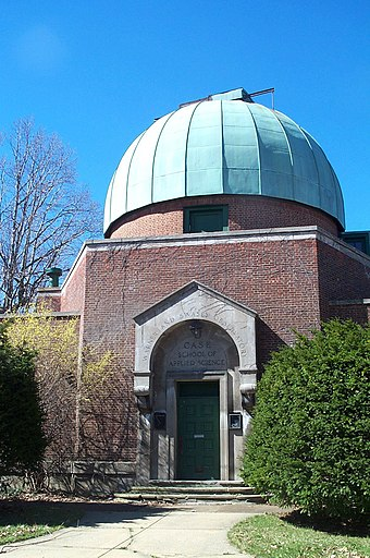 The Taylor Road facility of the Warner and Swasey Observatory Warner and Swasey Observatory.jpg