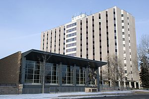 University of Wyoming - Washakie Dining Center and McIntyre Hall