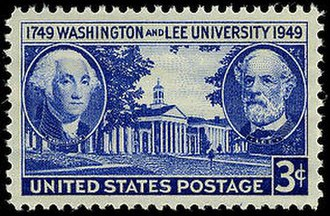 Washington and Lee University - Postage stamp commemorating the bicentennial of Washington and Lee.