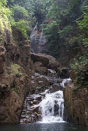 Waterfall at Namtokphlio National Park