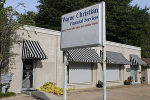 Wayne Christian - Wayne Christian Financial Services office is near the Shelby County Courthouse in Center, Texas.