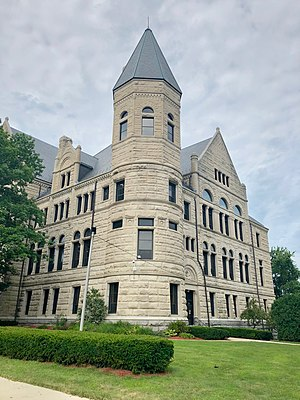Wayne County Courthouse in Richmond