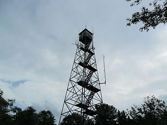 Weed Patch Hill - Built in the 1930s, this fire tower stands on top of Weedpatch Hill