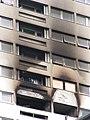 Wellington Way tower block fire, E3.jpg