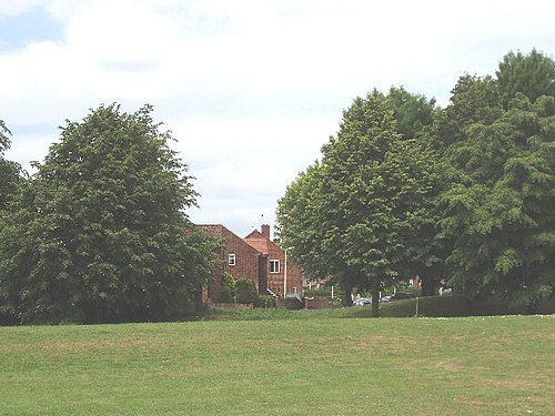 Racecourse Estate: this area was used for horse racing in the early 20th century Wetherby Close, Petts Hill - former Northolt Park Racecourse - geograph.org.uk - 18268.jpg