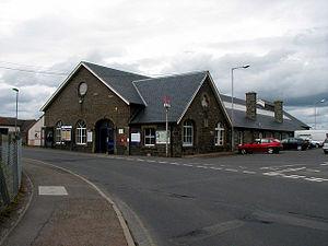 Wick railway station - An external view of Wick railway station