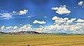 Widoki mongolskiego krajobrazu widziane z minibusa Karakorum - Ułan Bator (23).jpg