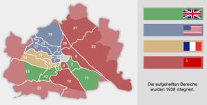 карта Вены с 45 по 55