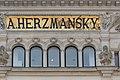Wien Stiftgasse 3 Herzmansky Inschrift.jpg