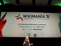 Wikimanía 2015 - Day 3 - Opening Ceremony - México DF 7.jpg
