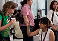 Wikimania 2009 - Melanie and Shun-ling.jpg