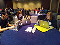 Wikimania 2015 Hackathon - Day 1 (10).jpg