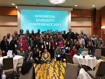 Wikimedia Diversity Conference 2017 - Group Pic.jpg