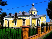 Wikimedia Greek Catholic Church Town of Bar Vinnytsia Region State of Ukraine Photograph by Viktor O. Ledenyov 26072014 (19).jpg